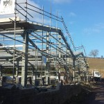Building Work Scaffolding